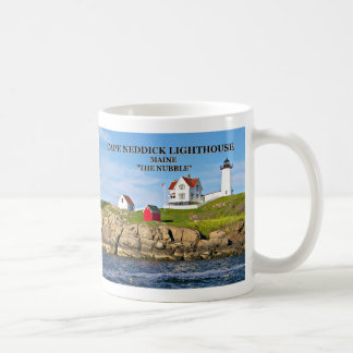 Cape Neddick Light ('the Nubble'), Maine Coffee Mug