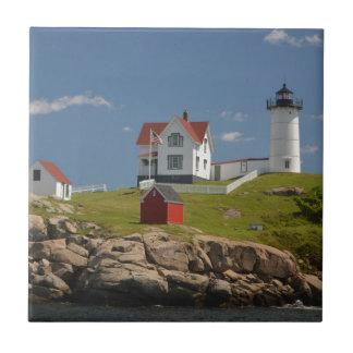 Cape Neddick Lighthouse Ceramic Tile