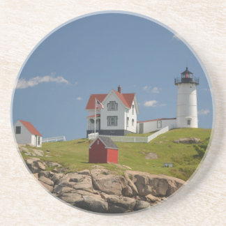 Cape Neddick Lighthouse Coaster
