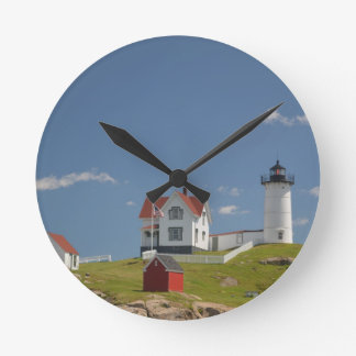 Cape Neddick Lighthouse Round Clock