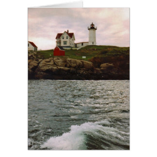 "Cape Neddick ""Nubble Light"" Card"