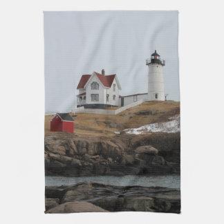 Cape Neddick - Nubble Light Kitchen Towel