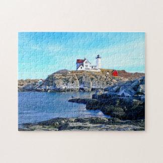 Cape Neddick ( Nubbles Light) Lighthouse Puzzle
