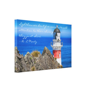 Cape Palliser Lighthouse Canvas Wrap