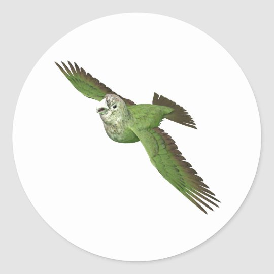 Cape Parrot Classic Round Sticker