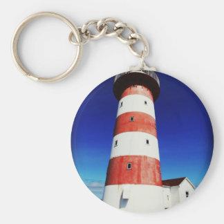 Cape Pine Lighthouse Keychain
