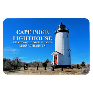 Cape Poge Lighthouse, Massachusetts Flexi Magnet