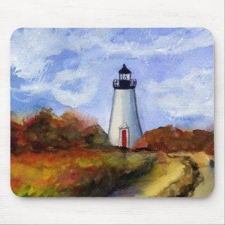 Cape Pogue Lighthouse Mousepad