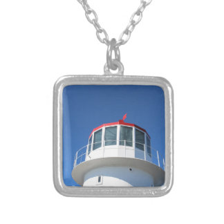 Cape Point Lighthouse South Africa Silver Plated Necklace