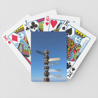 Cape Point South Africa Bicycle Playing Cards