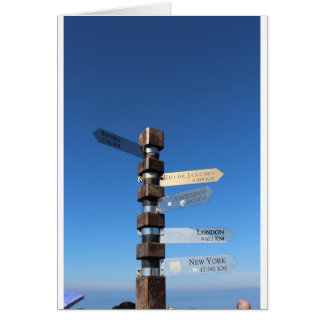 Cape Point South Africa Card