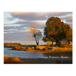 Cape Porpoise, Maine Postcard