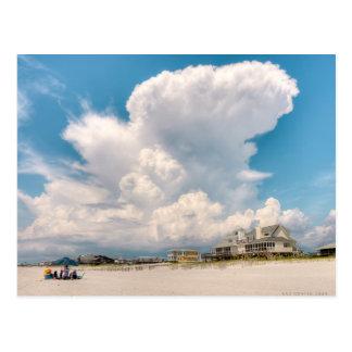 Cape San Blas Cloudscape Postcard
