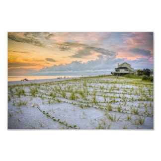 Cape San Blas Florida Photographic Print