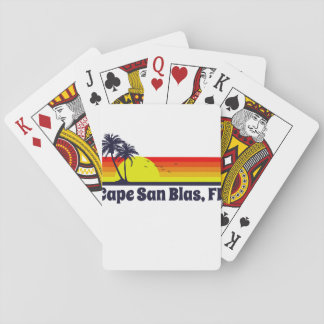 Cape San Blas Florida Playing Cards