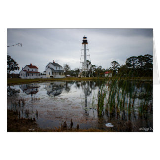 Cape San Blas lighthouse Card