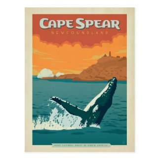 Cape Spear, Newfoundland Postcard