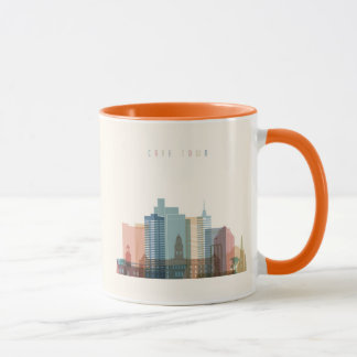 Cape Town, Africa | City Skyline Mug