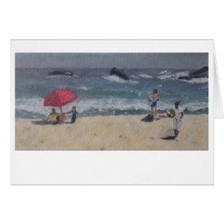 """""""Cape Town Beach Study"""" by Trina Chow Card"""