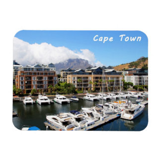 Cape Town Harbour and Table Mountain Magnet