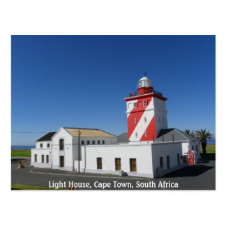 Cape Town Lighthouse Postcard