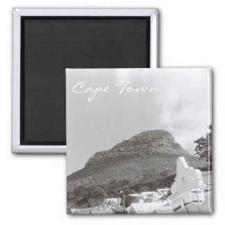 Cape Town Lion's Head View Film Photo Magnet