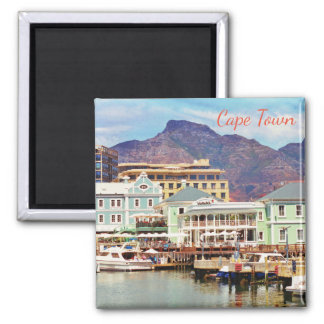 Cape Town Marina Harbor View Magnet