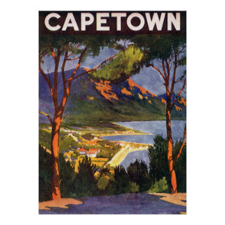 Cape Town Poster