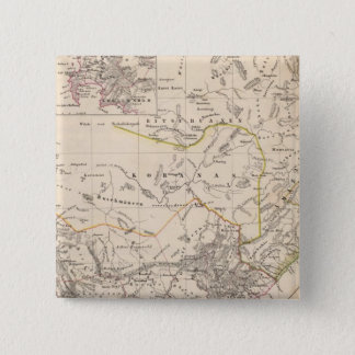 Cape Town, South Africa 2 Inch Square Button