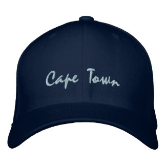 Cape Town, South Africa embroidered hats & caps
