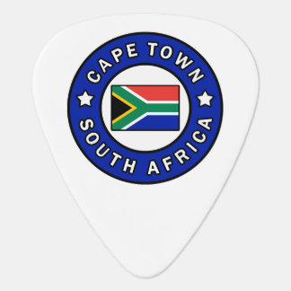 Cape Town South Africa Guitar Pick