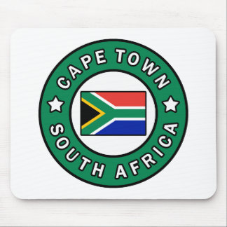 Cape Town South Africa Mouse Pad