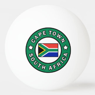 Cape Town South Africa Ping Pong Ball