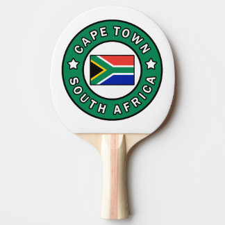Cape Town South Africa Ping Pong Paddle