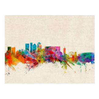 Cape Town South Africa Skyline Cityscape Postcard