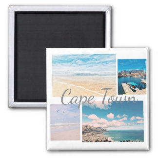 Cape Town South Africa Table Mountain Ocean Magnet