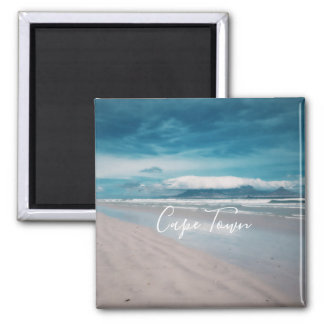 Cape Town Table Mountain Beach Ocean View Magnet