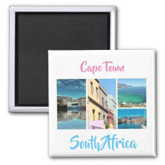 Cape Town Table Mountain Collage Magnet