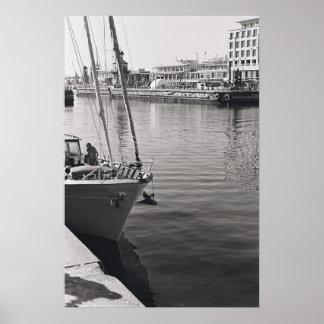 Cape Town Waterfront Harborl Kodak Film Poster