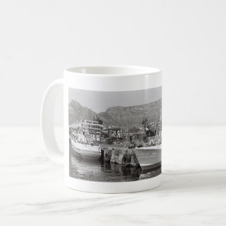 Cape Town Waterfront Harbour Table Mountain Mug