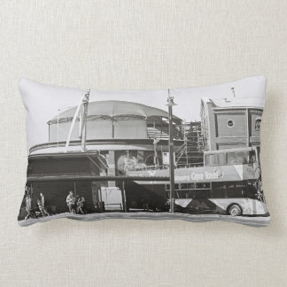 Cape Town Waterfront Kodak Film Throw Pillow