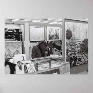 Cape Town Waterfront Market Kodak Film Poster