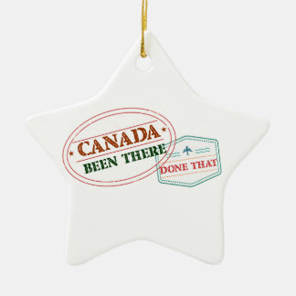 Cape Verde Been There Done That Ceramic Star Ornament