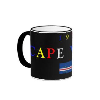 CAPE VERDE*- Black Mug
