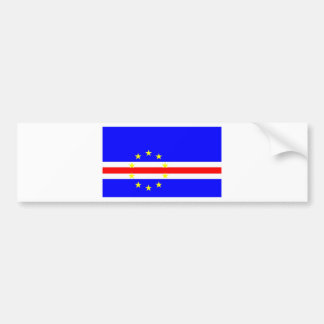 Cape Verde Bumper Sticker