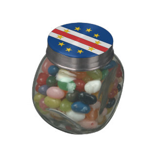 Cape Verde Jelly Belly Candy Jar