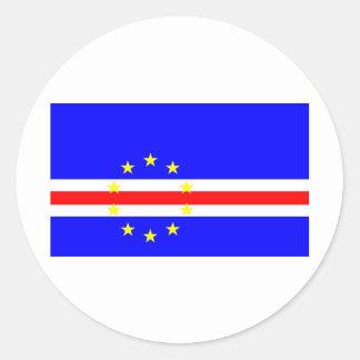 Cape Verde Classic Round Sticker