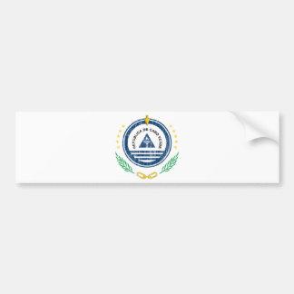 Cape Verde Coat Of Arms Bumper Sticker