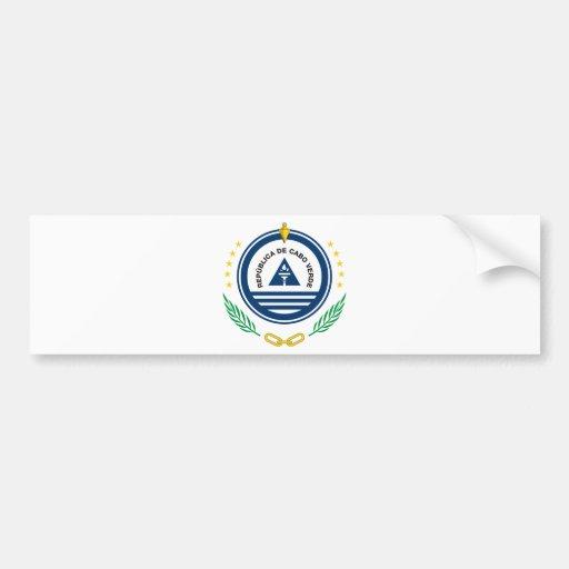 Cape Verde Coat Of Arms Bumper Stickers