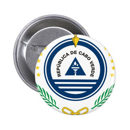 Cape Verde Coat Of Arms Buttons
